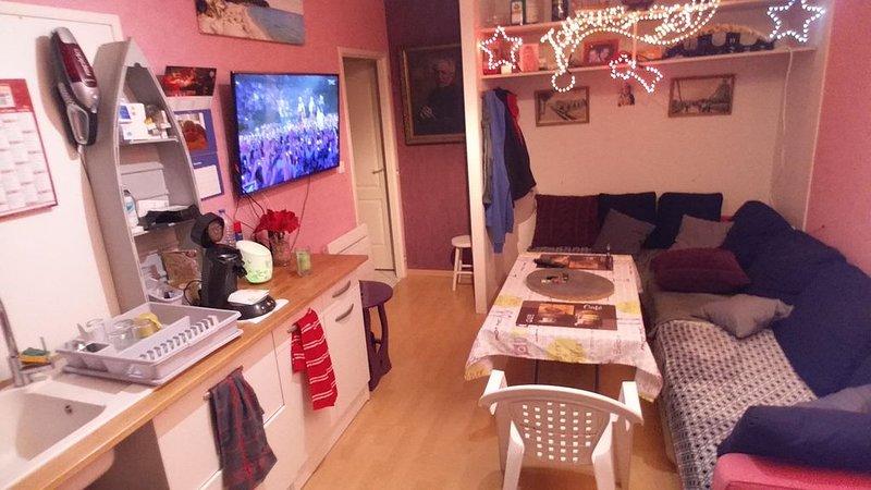 Appartement T3/ chambres d'hôte, vacation rental in Lagardelle-sur-Leze