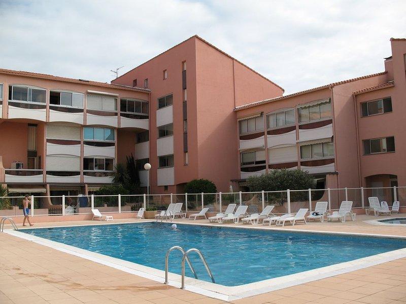 T1 avec loggia  (ré-aménagé en mars 2019), casa vacanza a Plage d'Argeles