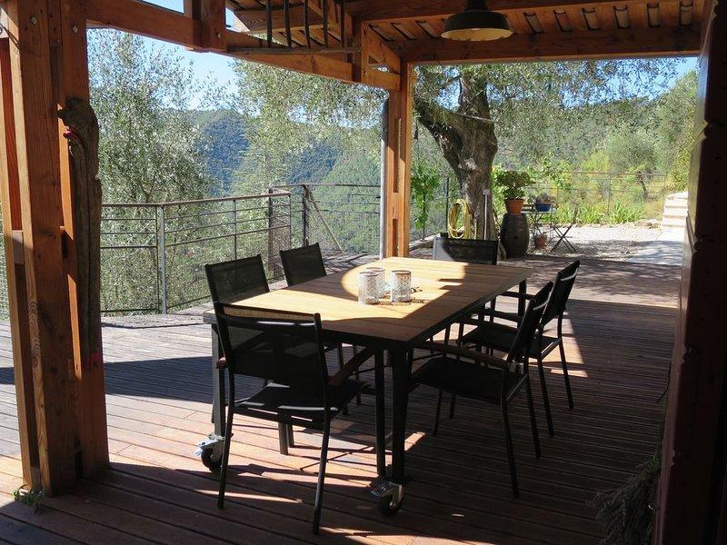 Le luxe à deux pas de la côte  d'azur : Maison en pleine nature avec piscine, location de vacances à Alpes Maritimes