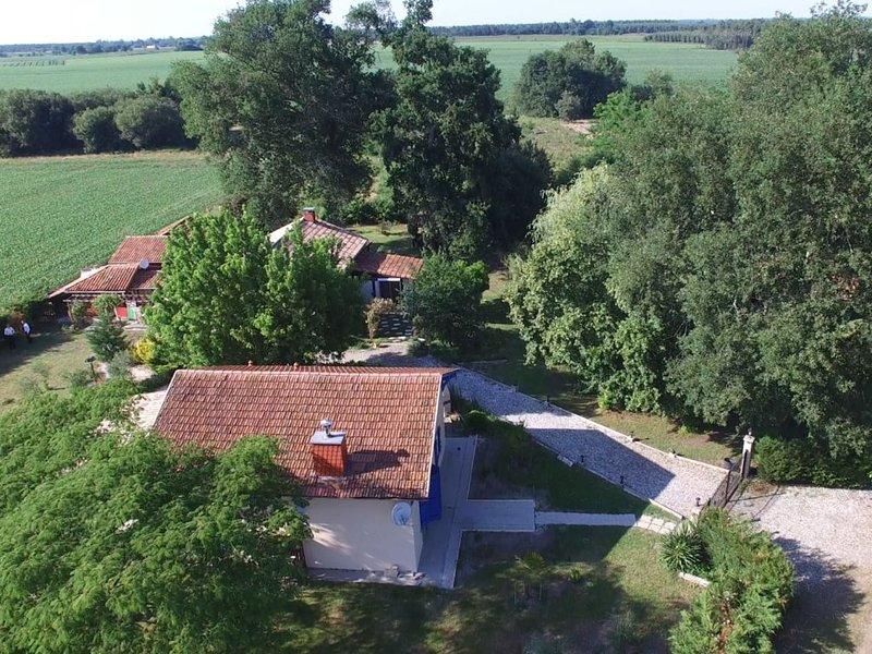 Au cœur des Landes, maison avec grand jardin, holiday rental in Arjuzanx