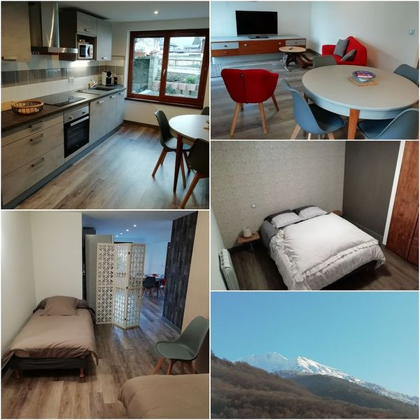 Appartement proche d'Albertville ., holiday rental in Gilly-sur-Isere