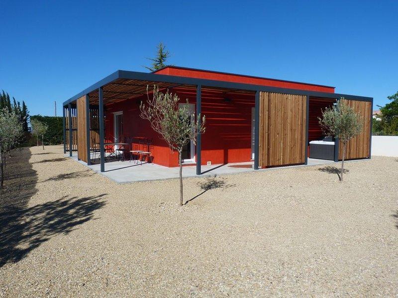 Les Lodges 1, Gîtes avec spa privatif au milieu des oliviers et des lavandes, location de vacances à Valensole