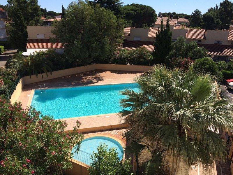 Appartement dans résidence  avec piscine, casa vacanza a Plage d'Argeles