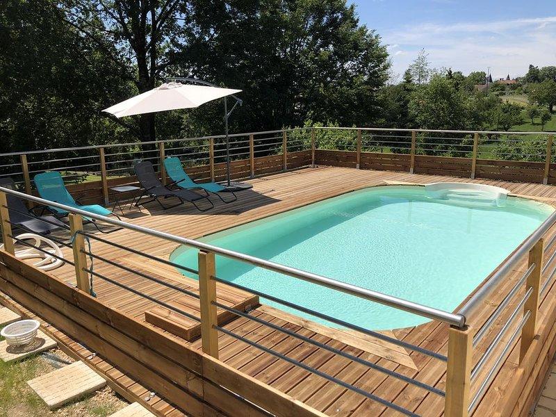 JOLIE PERIGOURDINE classée 3 ETOILES, holiday rental in Douzillac