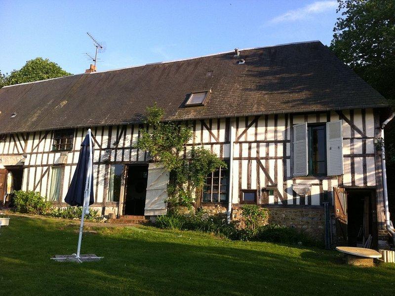 Belle maison normande, aluguéis de temporada em Asnieres