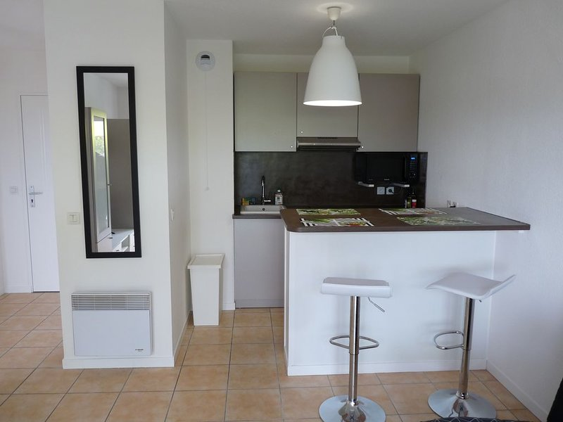 PROMO Ondres : T2 terrasse + piscine dans résidence à 5 min des plages + wifi, aluguéis de temporada em Saint Andre de Seignanx