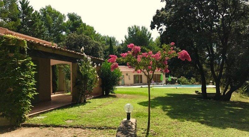 Le Jonquier - Villa L'Isle sur la Sorgue/Saumane, casa vacanza a Fontaine de Vaucluse