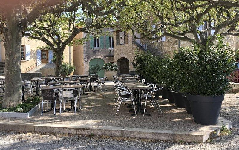 Duplex ( classé 4 étoiles ) dans maison de village avec vue exceptionnelle !, holiday rental in Rousset-les-Vignes