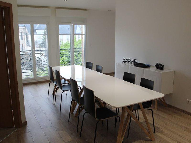 appartement 110 m² en centre ville, holiday rental in Chaumont-sur-Aire
