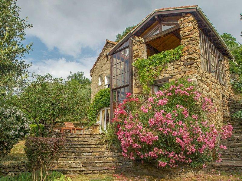 Ancienne maison de berger en pierre entièrement rénovée, vues exceptionnelles, holiday rental in Vieussan