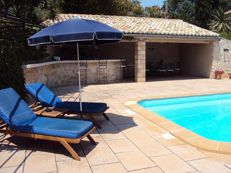 La Cachette: Calme & Confort 3 etoiles, aluguéis de temporada em Saint-Maurice-de-Cazevieille