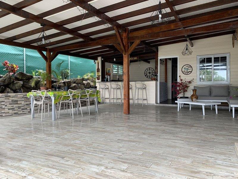 Maison  à proximité de la plage, casa vacanza a La Pagerie