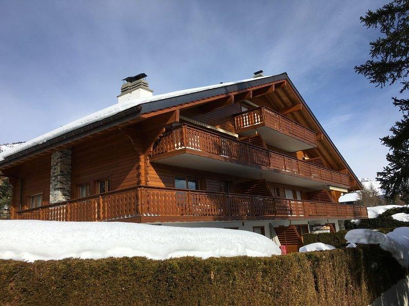Toute l'année le rêve à la montagne, holiday rental in Chalais