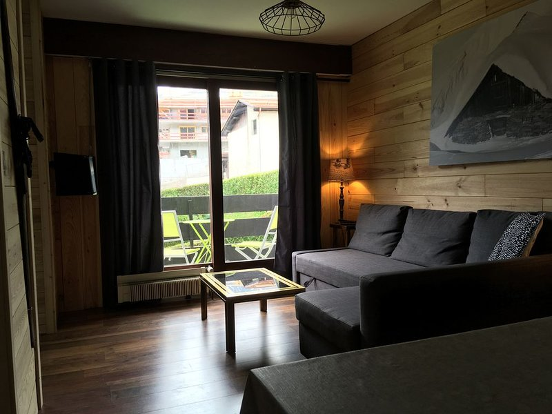 Appartement 4/6 pers, 50m², Les Houches Chamonix, holiday rental in Les Houches