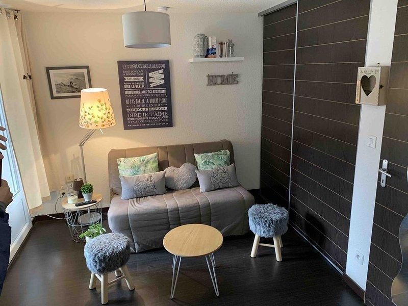 charmant appartement 4/5 personnes centre de luz saint sauveur, vacation rental in Luz-Saint-Sauveur