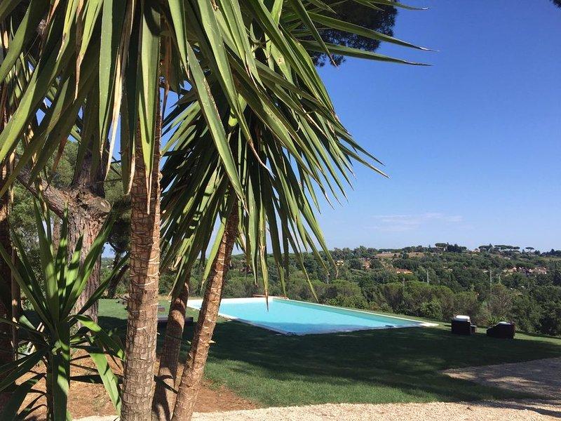 Il Parco di Pia un'oasi nel verde dentro  la citta' di Roma- intera villa, casa vacanza a Olgiata