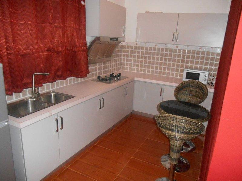 appartement flic en flac avec piscine, location de vacances à Bambous
