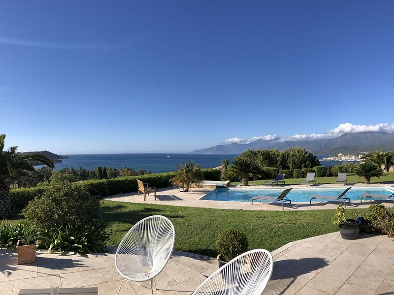 VUE PANORAMIQUE sur le Golfe de Saint-Florent, vacation rental in Saint Florent