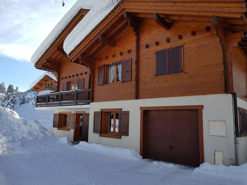 Appartement La Clusaz, 3 pièces, 6 personnes, à 150m des pistes, holiday rental in La Clusaz