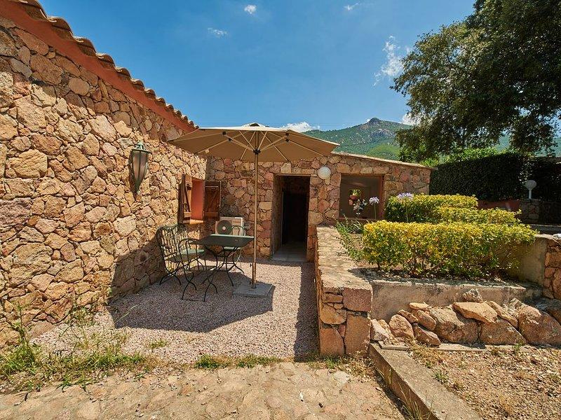 Maison L'Olivier avec piscine pour 4/6 pers, location de vacances à Valle-di-Mezzana