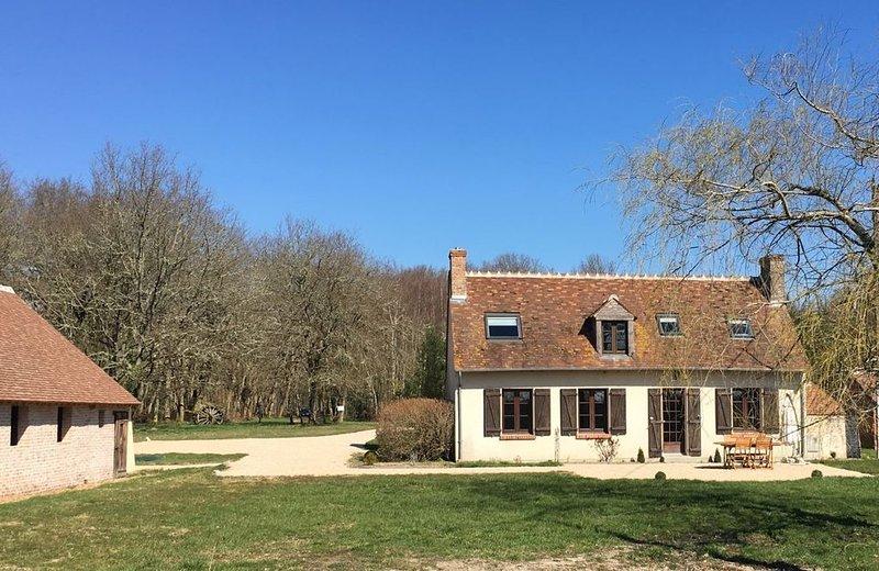 Le Petit Villiers Au cœur de Sologne des Étangs., holiday rental in La Ferte-Beauharnais