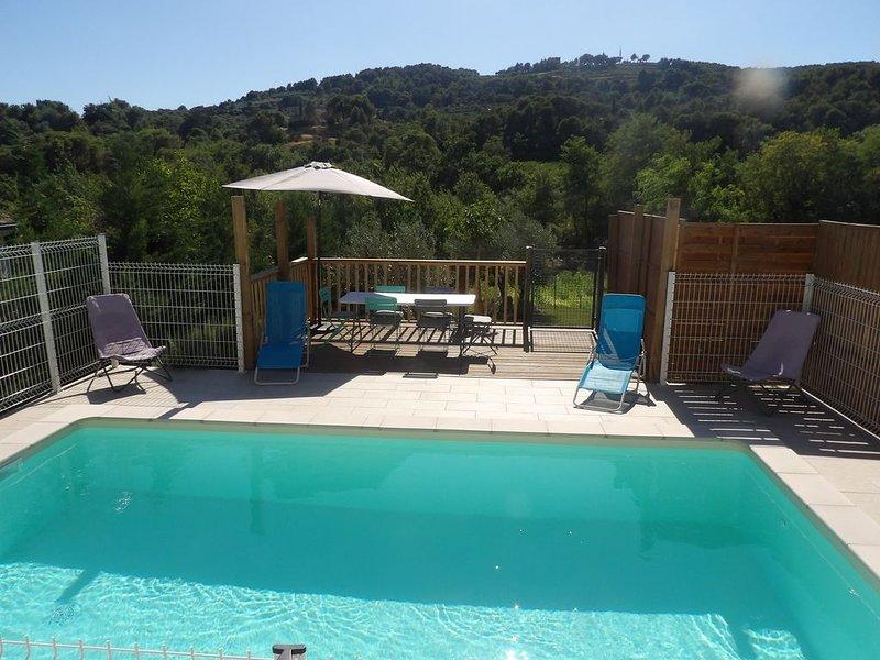 Superbe Villa avec Piscine à Nyons, location de vacances à Drôme