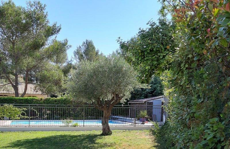Belle villa climatisée de 200m² au Nord de Montpellier dans quartier résidentiel, aluguéis de temporada em Les Matelles