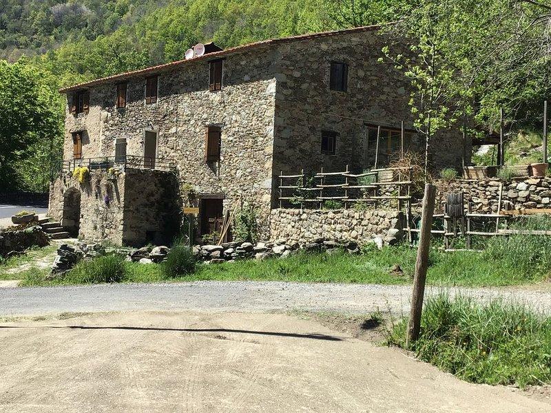 Appartement dans un Mas Catalan, location de vacances à Beget