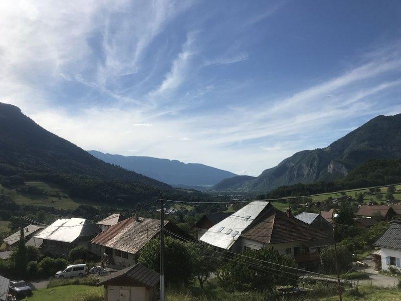 Appartement dans un joli village, holiday rental in Montailleur