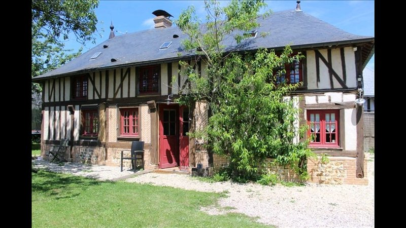 Gite Normand 5 personnes, holiday rental in Brionne