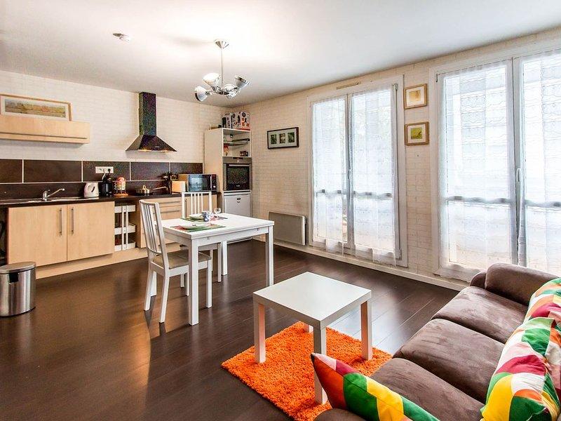Agréable appartement bien équipé de 34m2 à Brest en plein coeur de Lambézellec, location de vacances à Brest