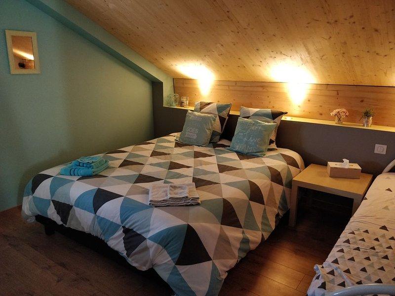 Chambre scandinave chez l'habitant, location de vacances à Saint-Paul-de-Varax