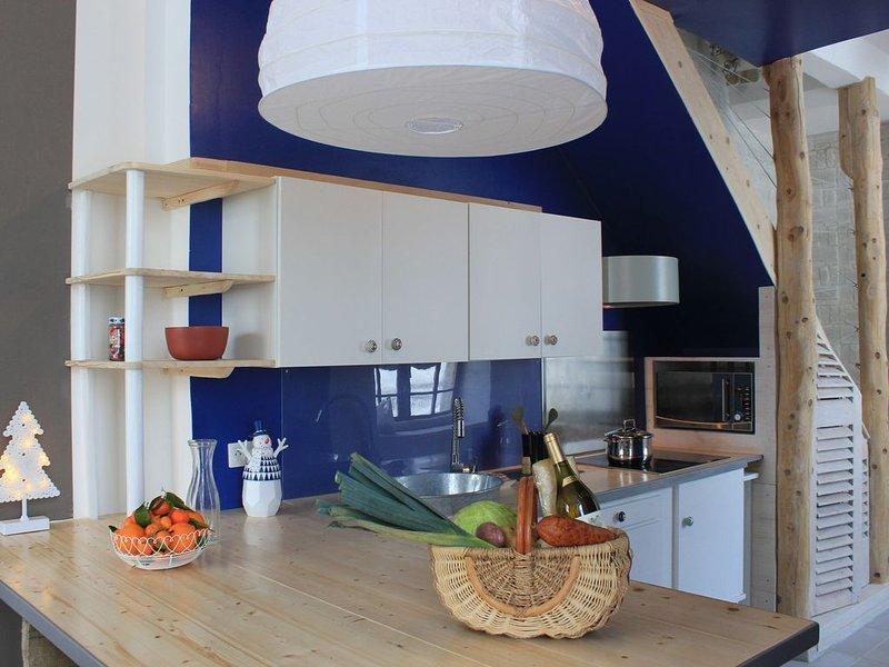 Appartement Design épuré, esprit Nature, location de vacances à Lac des Rouges Truites