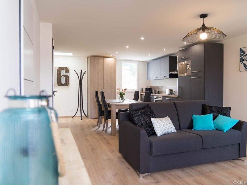 T2 Num 6 - Classé 3* Superbe Appartement 55m2 entièrement rénové, location de vacances à Uzer