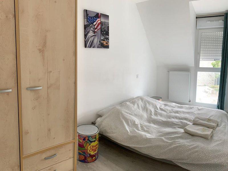 Chambre 3 : lit 140