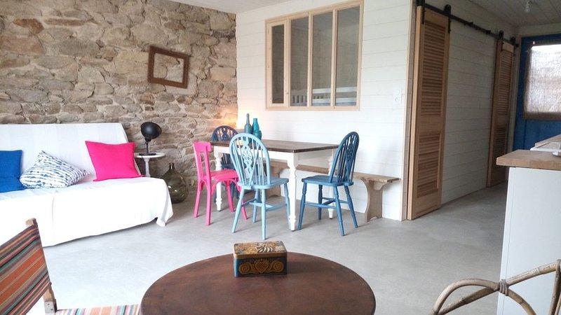 proche mer maison de pêcheur 6/8 pers Sarzeau golfe du Morbihan, location de vacances à Saint-Armel