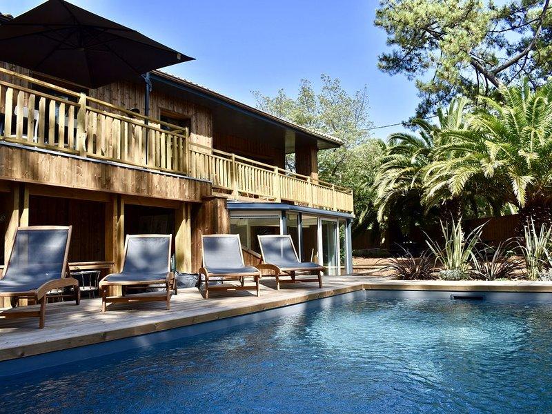 Villa à l'extrême pointe du Cap Ferret, holiday rental in Cap-Ferret