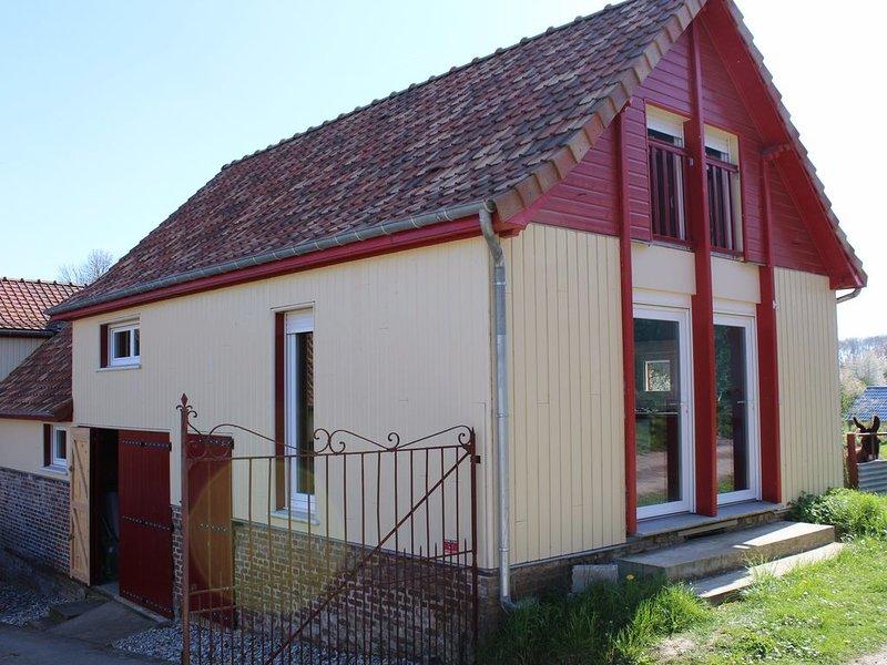La Grange du Festel à 5 min de Saint-Riquier, entre Amiens et la baie de Somme, holiday rental in Beauvoir Wavans