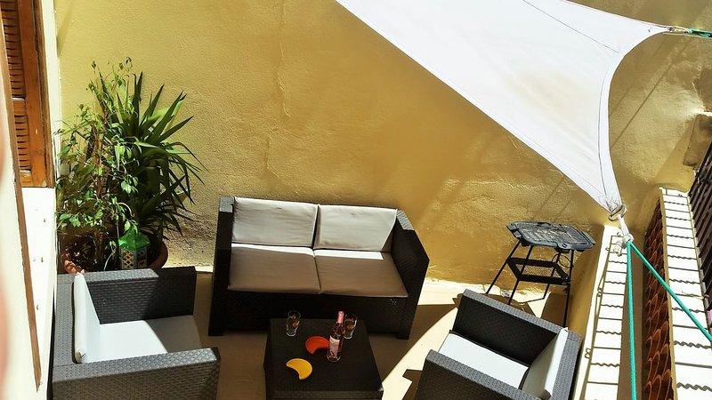 Beau T2 avec terrasse plein sud à coté de la fondation Van Gogh, aluguéis de temporada em Fourques