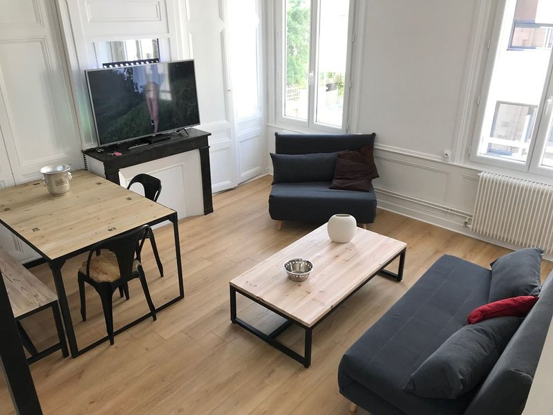 T2 STANDING ROUEN CENTRE 5mn GARE, holiday rental in Mont-Saint-Aignan