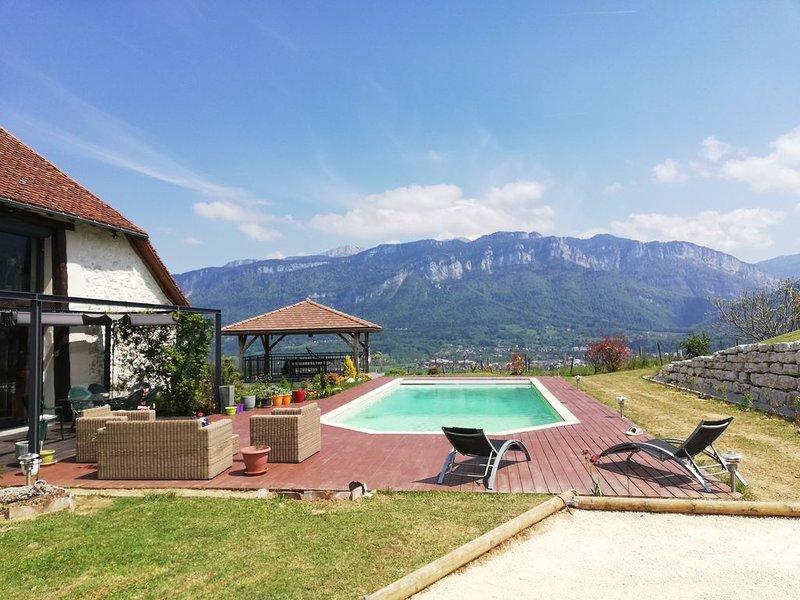 L'idyllique Grange Bonal, Détente et vue de rêve en plein coeur de la Chartreuse, holiday rental in La Sure en Chartreuse