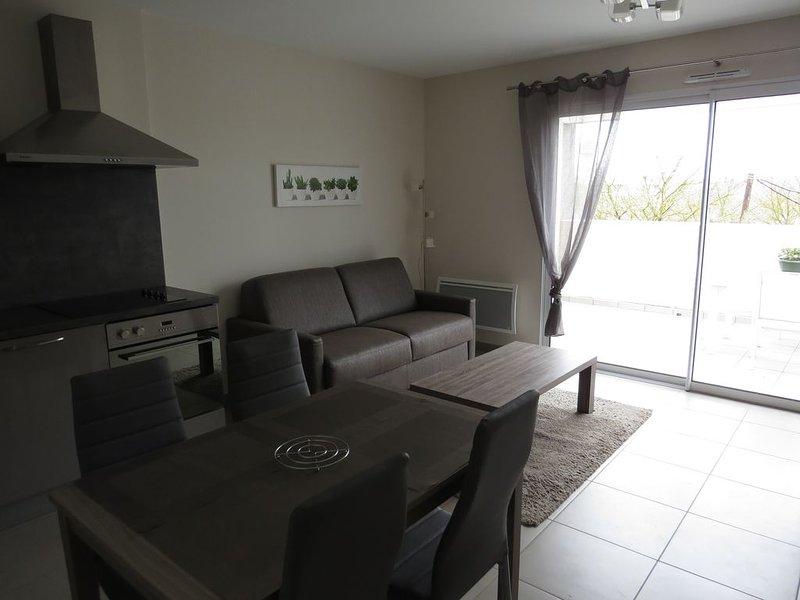 Appartement pour 2 personnes, location de vacances à Lespignan