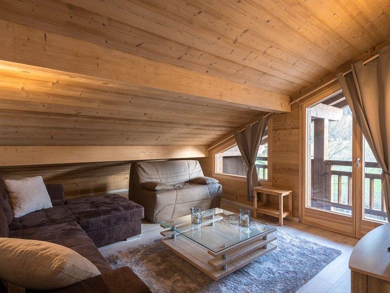 Portes du Soleil - appartement 8 personnes - Classé 3 étoiles, location de vacances à La Chapelle d'Abondance