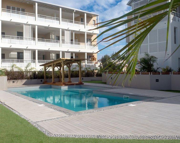 Ermitage les Bains - T3 de standing, vue mer, à 2mn du lagon, holiday rental in La Saline les Bains