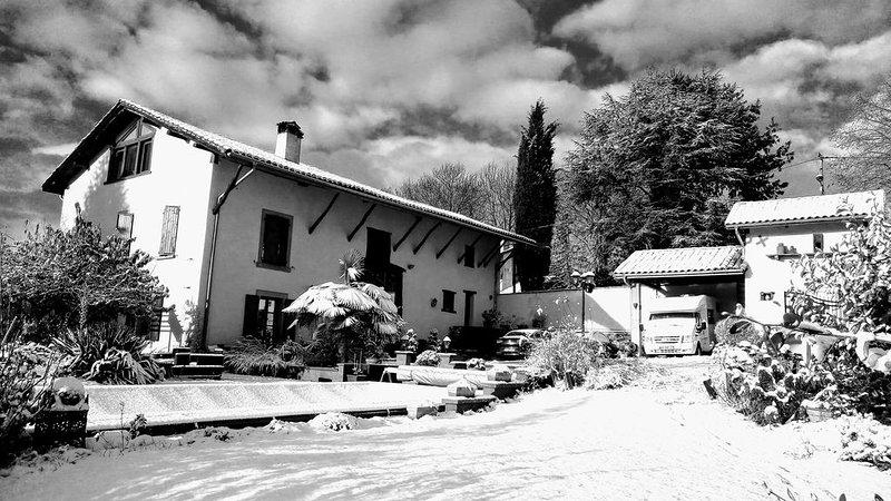 Il Clos d'Olon sotto la neve