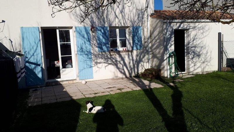Maison de vacances idéale en famille ou entre amis, location de vacances à Yves