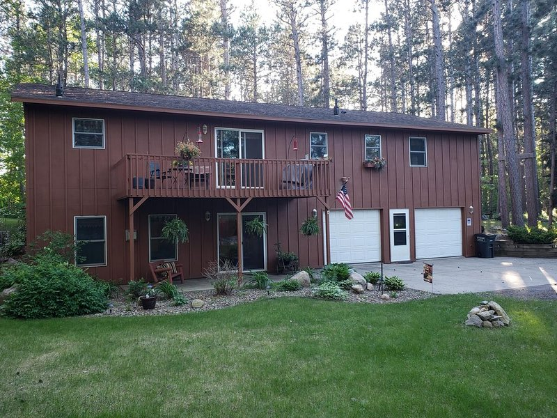 Lake Country Home in the Pines Is A Relaxing Vacation Getaway, location de vacances à Park Rapids