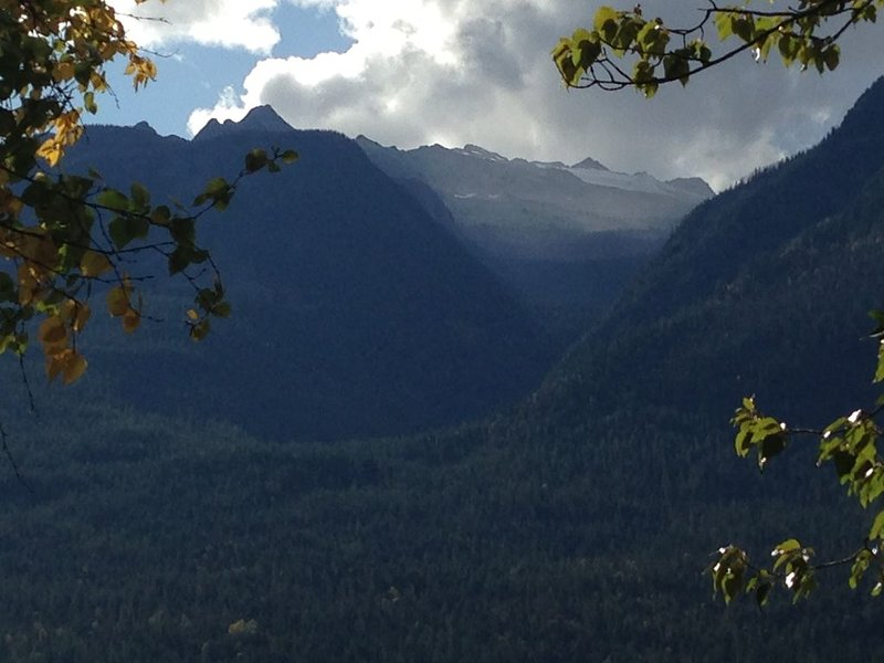 View of New Denver Glacier