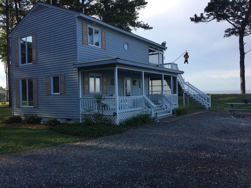 Beach/Waterfront Chesapeake Bay Northern Neck Home, holiday rental in Ridge