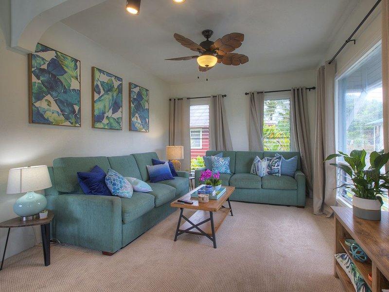 Stay Play Aloha! ❀ Hale Lani ~ Volcano❀Beaches❀Hawaiian Culture❀Waterfalls, holiday rental in Hilo